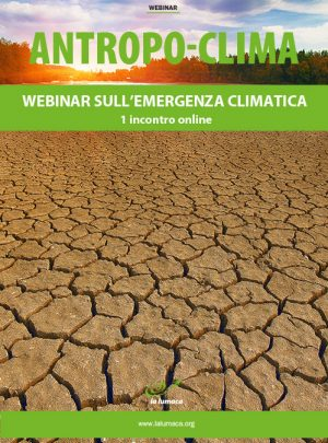 Webinar Antropo-clima - Emergenza climatica